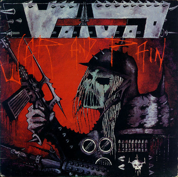 Voivod War And Pain LP Metal Blade - Roadburn / Burning World Mailorder