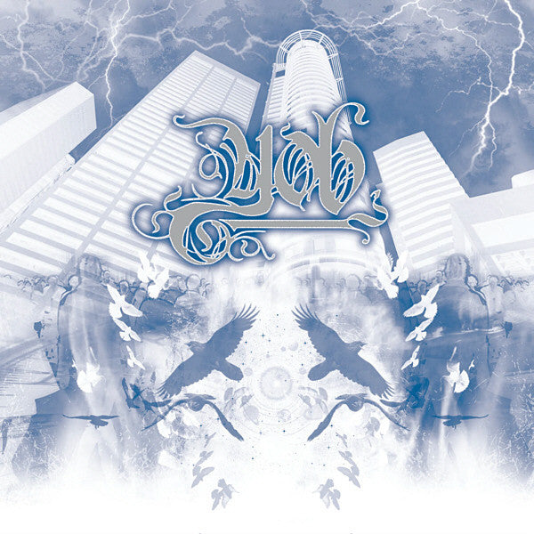 Yob - The Unreal Never Lived (2xLP,) Silver Blue / Black vinyl
