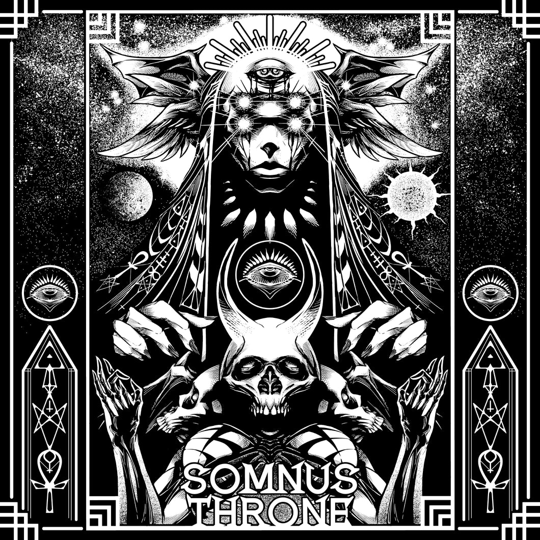 Somnus Throne - Self Titled LP (Black With White Vinyl)