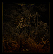Totengott The Abyss gold black metal LP Burning World Records - Roadburn / Burning World Mailorder
