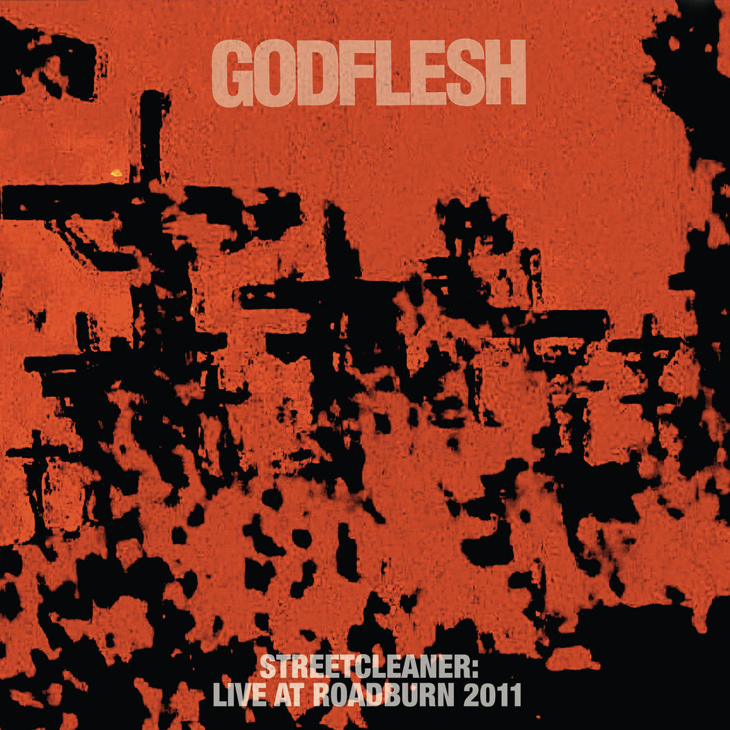 Godflesh Streetcleaner Live At Roadburn 2011 2LP (white vinyl)