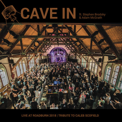 Cave In ft. Stephen Brodsky & Adam McGrath Live At Roadburn 2018 CD LP pre-order