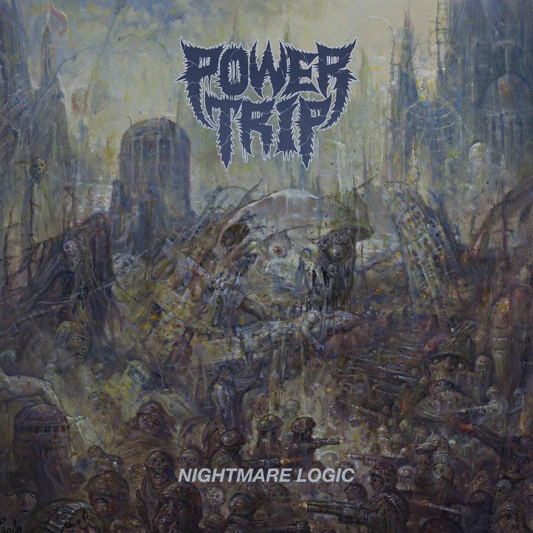 Power Trip Nightmare Logic Vinyl LP black Picture disc - Roadburn / Burning World Mailorder