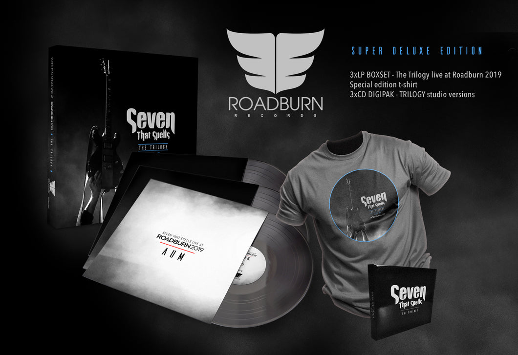 Seven That Spells - The Trilogy Live At Roadburn 2019 3LP+3CD+Shirt Box Set - Roadburn / Burning World Mailorder