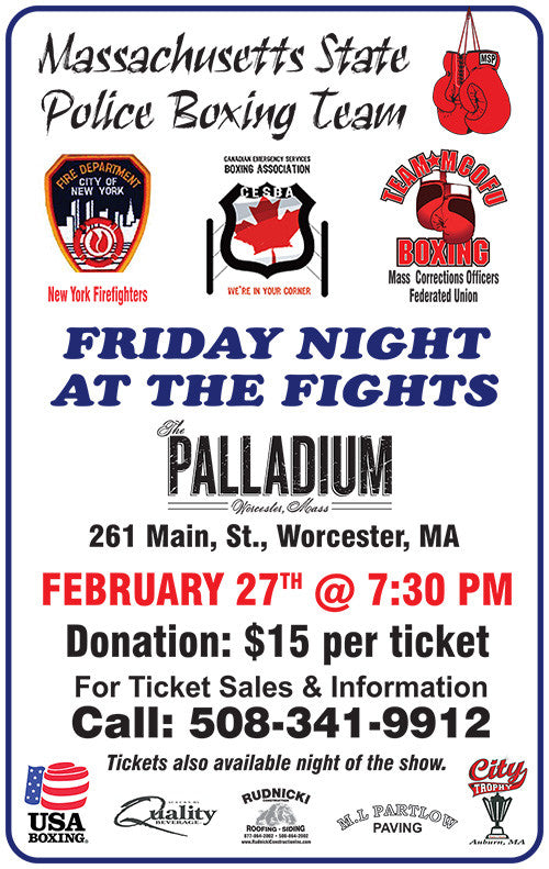 2/27/15 — Friday Night at the Fights!