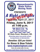 Dinner Show and Night at the Fights at White's of Westport
