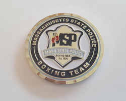 MSP Boxing Challenge Coin