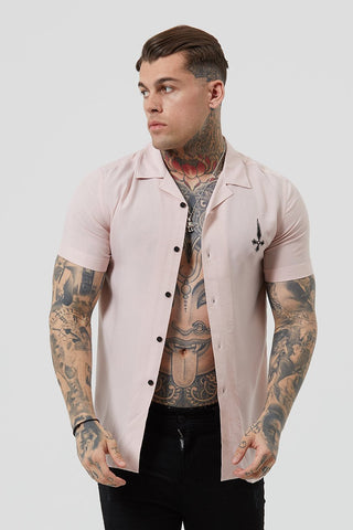 pink resort shirt