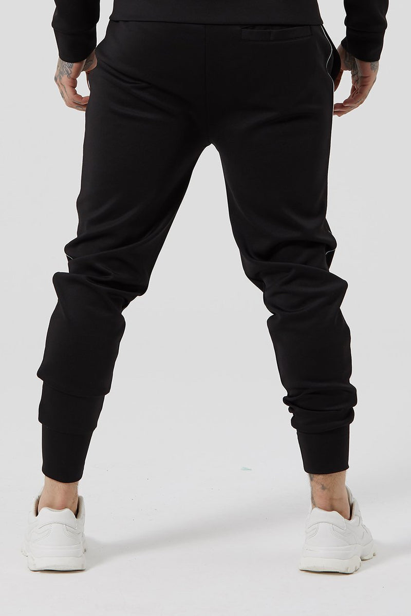 Judas Sinned Fine Scuba Signature Men's Joggers / Jogging Bottoms - Black - Judas Sinned Clothing
