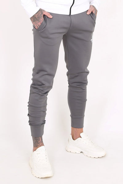Mens Judas Sinned Mind Scuba Men's Joggers / Jogging Bottoms - Grey (Joggers) - Judas Sinned Clothing