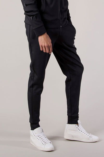 Judas Sinned Slide Men's Joggers / Jogging Bottoms - Black - Judas Sinned Clothing