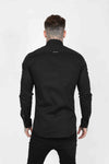Judas Sinned Smart Longsleeve Men's Shirt - Black - Judas Sinned Clothing