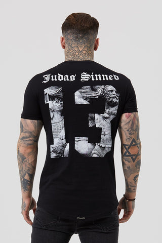 Judas Sinned Smart Longsleeve Men's Shirt - Thyme