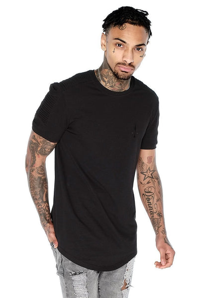 Judas Sinned Superstretch Biker Men's T-Shirt - Black - Judas Sinned Clothing