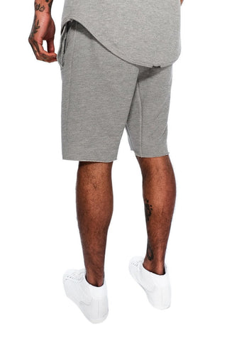 Mens Judas Sinned Men's Cut Off Training Shorts - Grey (SHORTS) - Judas Sinned Clothing