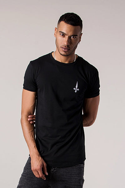 Judas Sinned Betrayal Print Men's T-Shirt - Black - Judas Sinned Clothing