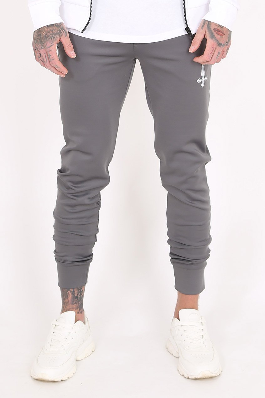 Judas Sinned Mind Scuba Men's Joggers / Jogging Bottoms - Grey - Judas Sinned Clothing