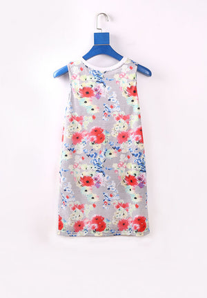 Dancing Queen Tank Dress - Grey (Mommy)
