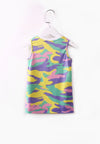 Tiny Dancer Tank Dress - Yellow