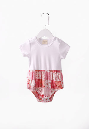 Countryside Romper - Pink