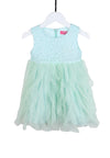 Party Frills Dress - Mint