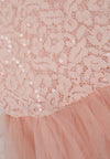 Party Frills Dress - Pink