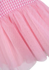 Princess Plaid Dress - Pink