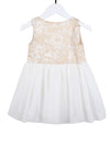 Charms and Graces Dress - Beige