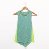Criss-Cross Active Tank Top - Green