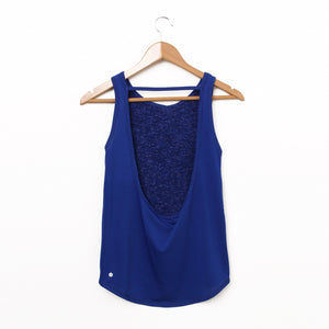 U-back Tank Top - Blue
