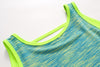 U-back Tank Top - Yellow