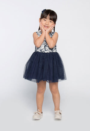 Charms and Graces Dress - Blue