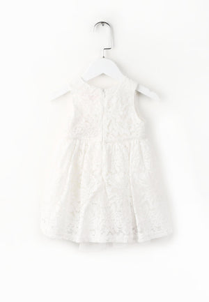 The Flora Dress - White