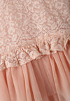 Little Layered Lace Dress - Pink