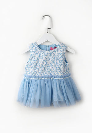 Little Daisy Top - Blue