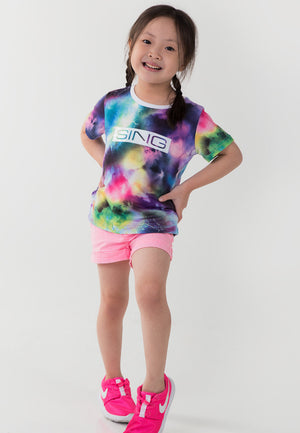 Sing Along Oversized Tee - Purple
