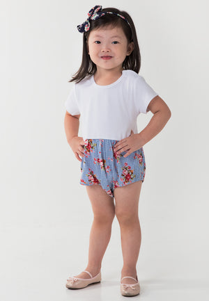 Garden Patch Romper - Blue