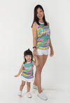 Big Laughs Tank Tee - Yellow (Mommy)