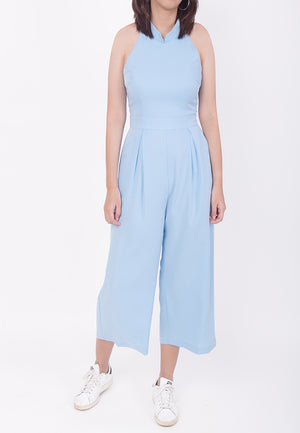 CHEONGSAM JUMPSUIT - BLUE (MOMMY)