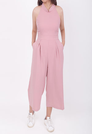 CHEONGSAM JUMPSUIT - PINK (MOMMY)