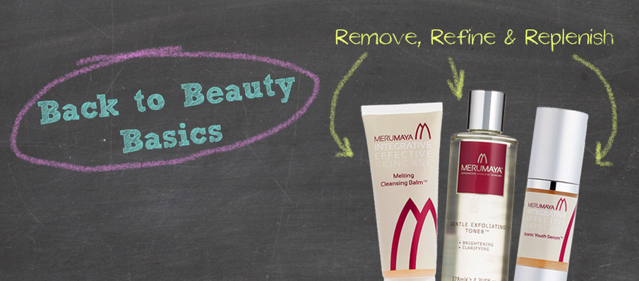 Back To Beauty Basics | The 3 R's, Remove, Refine, Restore