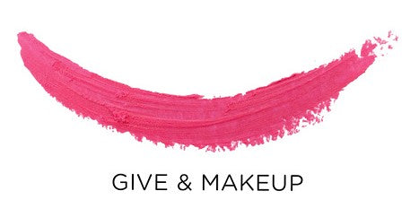 Give and Make Up Caroline Hirons Charity