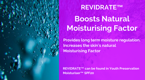 REVIDRATE™ can be found in Youth Preservation Moisturiser™ SPF20