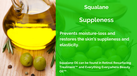 Squalane Oil Retinol Resurfacing Treatment™ Everything Everywhere Beauty Oil™ MERUMAYA Skincare