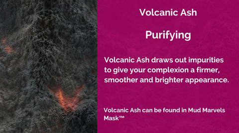 Volcanic Ash Purifying MERUMAYA Skincare Ingredients