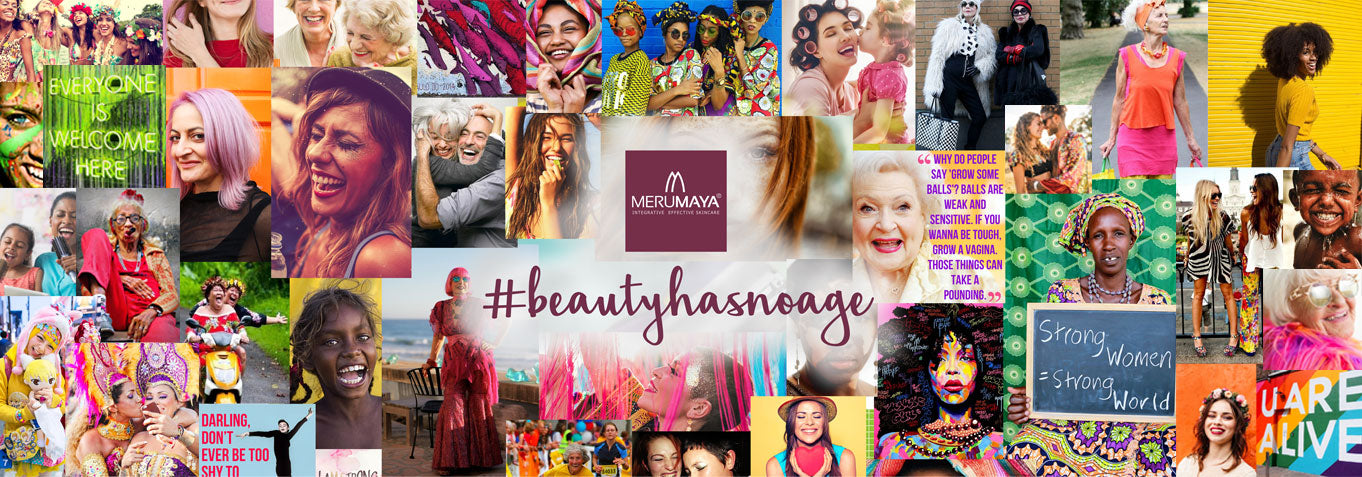 #beautyhasnoage MERUMAYA Effective Skincare brand eth... read more <i class=