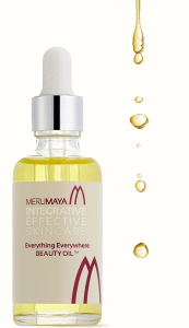 MERUMAYA Everything Everywhere Beauty Oil Cacay Oil white background