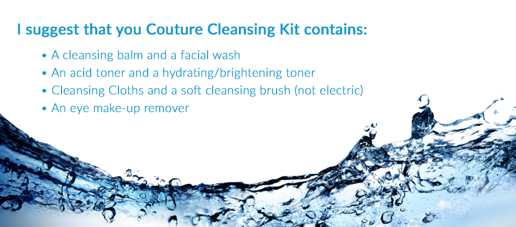 Couture Cleansing Set Checklist MERUMAYA Skincare