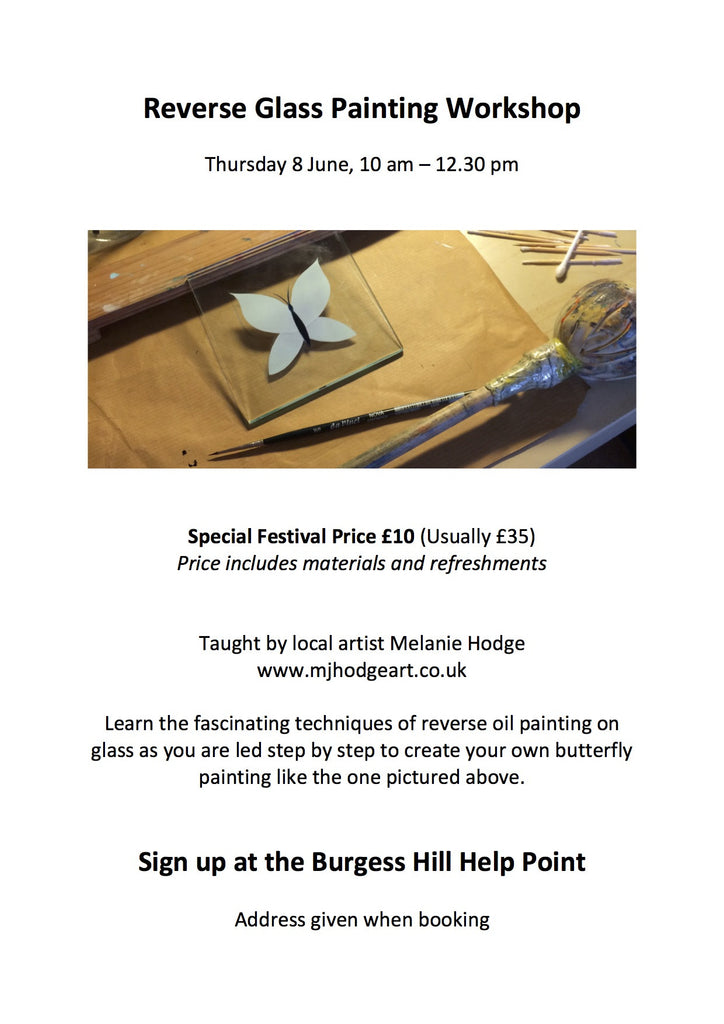 New Workshop - Special Offer for the Burgess Hill Summer Festival