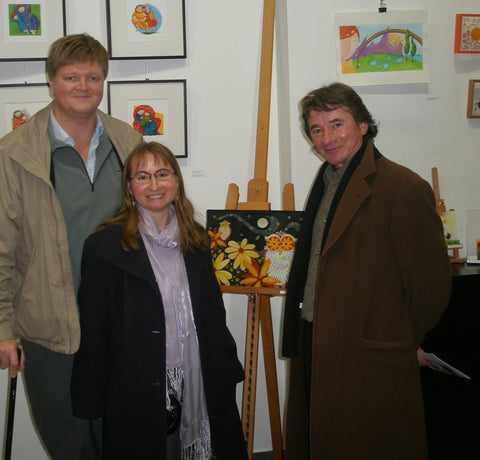 Melanie and her husband with Ivan Fišter in 2010